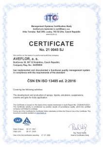 Certificate 13485 2015 EN ITC