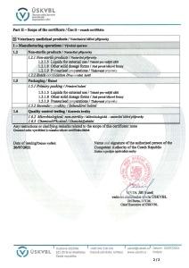 GMP Certificate 2015 (veterinary medicinal products) CZ_ENG_Stránka_2