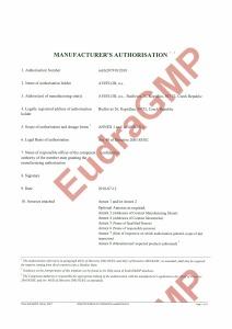 GMP certificate (human pharmaceuticals producer) till 24.4.2017_Stránka_1